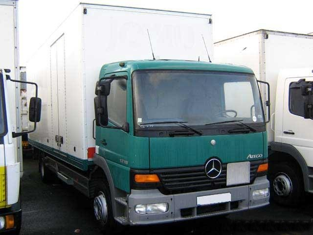 Mercedes Atego ready for shipping to Mombasa